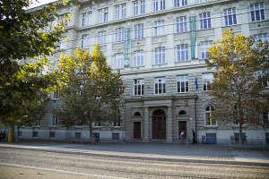 Budova Fakulty sociálních studií na Joštově. Foto: Jitka Janů/LeMUr.mu