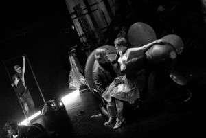 Režisérem hry Jsem Kraftwerk! v HaDivadle je Marián Amsler. Foto: Martin Zeman