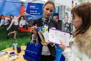 O účast na veletrhu projevilo zájem mnoho firem. Foto: Facebook/Veletrh práce JobChallenge