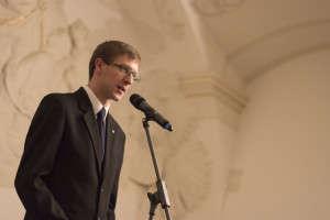 Ondřej Vymazal, předseda SK AS MU. Foto: Jitka Janů/LeMUr.mu