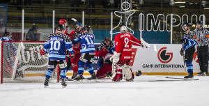 Skoro jako NHL. Hráči se i několikrát poprali. Foto: Jitka Janů/LeMUr.mu