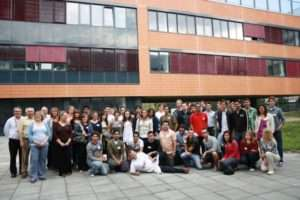 Welcoming barbeque with the Vice-Deans and freshers. Foto: MIMSA's archive
