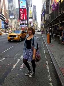 Nejživější místo v New Yorku: City Times Square. Foto: archiv Leony Šebkové